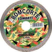 "Disco Corte Mármore Diamantado Bomcorte Combatt Liso, 4.3/8"" - 1491204"