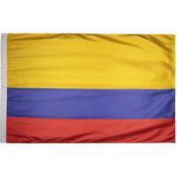 Bandeira Colômbia Torcedor 2 Panos