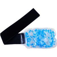 Bolsa Em Gel Para Punho- Azul & Preta- 10X47Cm- Acte