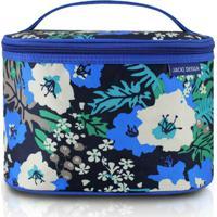 Necessaire Frasqueira - Jacki Design - Feminino-Azul+Preto
