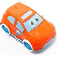 Carrinho Smurfs - Samba Toys - Laranja