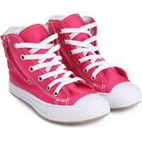 Tênis Infantil Cano Alto Kurz Pelo Feminino - Feminino-Pink