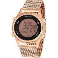 Relógio Champion Digital Ch48082Z Feminino - Feminino-Rosa