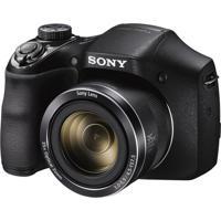 Câmera Digital Dsc-H300 20.1Mp Tela 3 Zoom Óptico 35X Filma Hd Foto Panorâmica Cartão 8Gb Sony