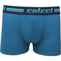 Cueca Colcci Boxer Padronagem Azul