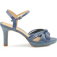 0918a6036 Sandália Jeans - MuccaShop
