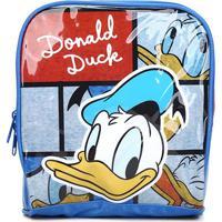 Lancheira Infantil Luxcel Donald Duck - Masculino-Azul