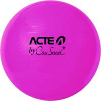 Bola Para Pilates Acte Sports Cau4 65Cm Anti Estouro Gym Ball By Cau Saad Pink