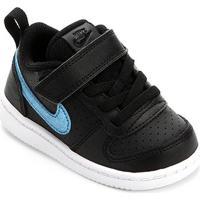 Tênis Infantil Nike Court Borough Low Ep Velcro - Feminino