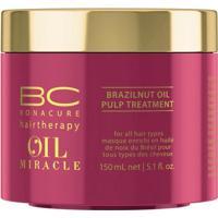 Schwarzkopf Bc Oil Miracle Brazilnut- Máscara De Tratamento 150Ml - Unissex-Incolor