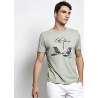 Camiseta Guarda Sol - Verde & Pretavide Bula
