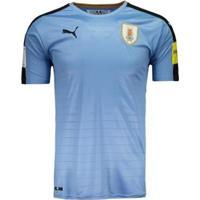 Camisa Puma Uruguai Home 2016 Eliminatórias Fifa Masculina - Masculino