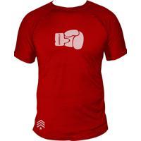 Camiseta Uppercut Muay Thai Dry Fit Luva Vermelha