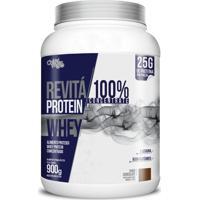 Whey Protein Chá Mais Revitá 100% Concentrate Chocolate 900G