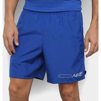 Shorts Nike Air Challenger Masculino - Masculino-Azul