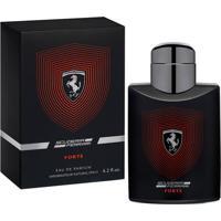 Ferrari Scuderia Forte Eau De Parfum Masculino 125 Ml