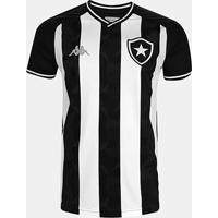 Camisa Botafogo I 19/20 S/Nº Torcedor Kappa Masculina - Masculino