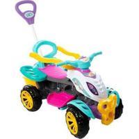 Quadriciclo Infantil A Pedal 3111 - Unissex-Branco