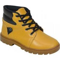 Bota Pees Kids Infantil - Masculino-Amarelo
