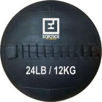 Wall Ball Medicine Ball Bola De Couro 12Kg P/ Crossfit, Treinamento Funcional - Enforce Fitness - Unissex