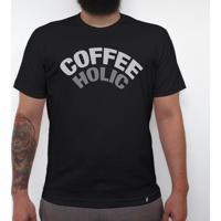 Café Preto - Camiseta Clássica Masculina