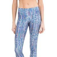 Legging Live Trademark Azul M