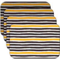 Jogo Americano Love Decor Abstrato Stripes Kit Com 4 Peças