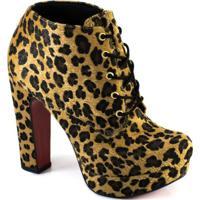 Ankle Boot Lita Numeração Especial Sapato Show 943716E