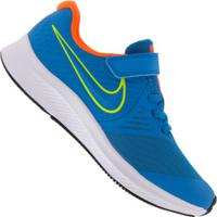Tênis Nike Star Runner 2 - Infantil - Azul/Laranja
