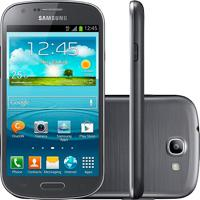 "Smartphone Samsung Galaxy Express Gt-I8730 Cinza - 4G Lte - 8Gb - Wi-Fi - Tela 4.5"" - Câmera 5Mp - Android 4.1"