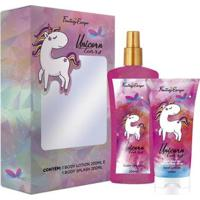 Kit Body Splah + Loção Corporal Delikad Fantasy Escape Unicorn Tears - Unissex-Incolor
