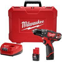 Furadeira Parafusadeira Milwaukee M12 2408-259 Impacto 3/8 Pol 220V