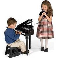Piano Sinfonia Infantil Instrumento Musical Brinquedo Com Gravador E Microfone Rosa Meninas Winfun