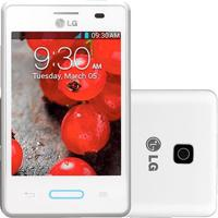 """Smartphone Lg E425 Optimus L3 Ii - 3G - Wi-Fi - 3.2"""" - 3Mp - Android 4.1 - Branco"""