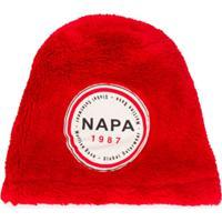 Napa By Martine Rose Logo Patch Beanie - Vermelho