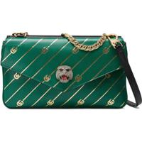Gucci Medium Double Shoulder Bag - Verde