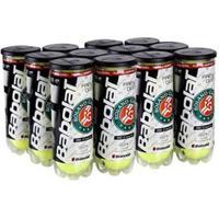 Bola De Tênis Babolat Roland Garros - Pack Com 12 Tubos - Unissex
