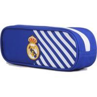 Estojo Escolar Do Real Madrid - Unissex