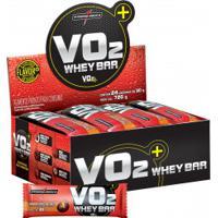 Barra De Proteinas Integralmédica Vo2 Protein Bar - Pão Mel - Cx 24 Unidades