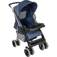 Carrinho De Bebê Berço Tutty Baby Reclinável Thor Plus Azul New