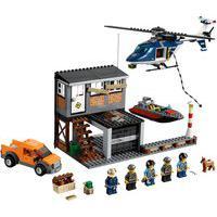 Lego City - Helicóptero De Detenção - 60009