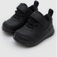 Tênis Nike Infantil Varsity Leather Preto