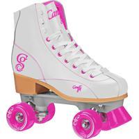 Patins Quad Elite Roller Derby Candi Girl Sabina White - Feminino