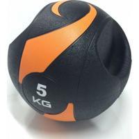 Bola Liveup De Peso Medicine Ball Ls3007A/5 Com Pegada 5Kg - Unissex