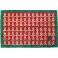 Capacho Pinheiros- Vermelho & Verde- 60X40Cmcromus