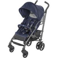 Carrinho De Bebê Passeio Chicco Lite Way Até 15Kg - Unissex-Azul