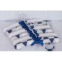 Jogo De Cabides 6 Peã§As Losango Marinho - Azul - Menino - Dafiti