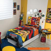Colcha Infantil Ladybug (150X210) Algodão Azul