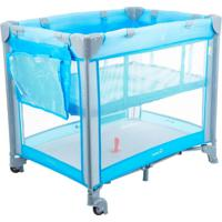 Berço Mini Play Pop Azul Safety 1St