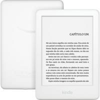 """E-Reader Amazon Kindle 10ª Geração Branco Tela De 6"""" Wi-Fi 4Gb De Mem"""